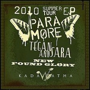 Paramore - 2010 Summer Tour cover art