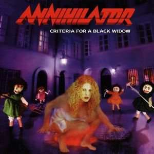 Annihilator - Criteria For A Black Widow cover art