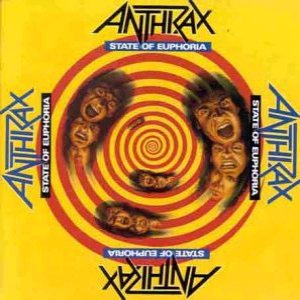 Anthrax - State Of Euphoria cover art
