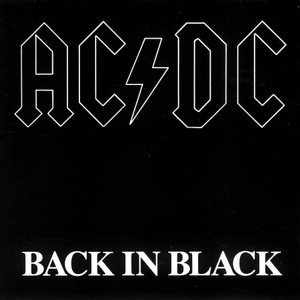 AC/DC - Back in Black cover art