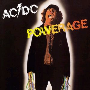 AC/DC - Powerage cover art