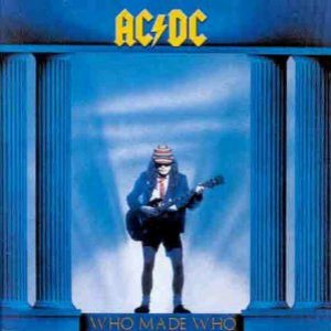 AC/DC - Who Made Who cover art