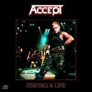 Accept - Staying A Life cover art