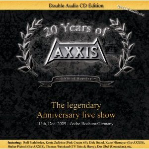 Axxis - 20 Years of Axxis cover art
