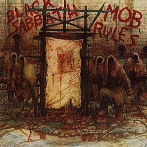 Black Sabbath - Mob Rules cover art