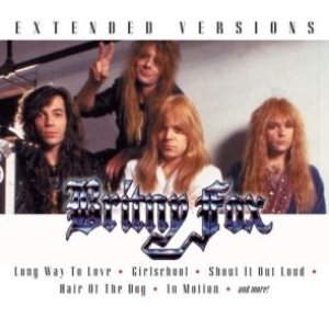 Britny Fox - Extended Versions cover art