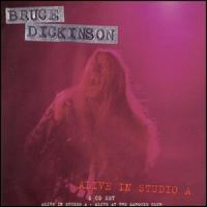 Bruce Dickinson - Alive In Studio A cover art