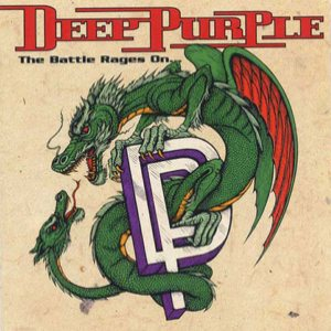 Deep Purple - The Battle Rages On... cover art