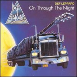 Def Leppard - On Through the Night cover art