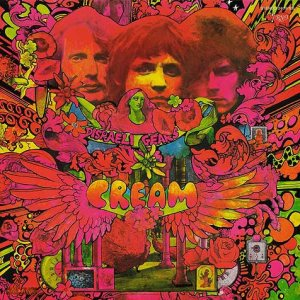 Cream - Disraeli Gears cover art
