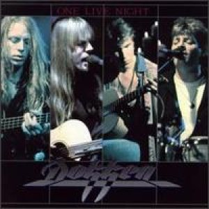 Dokken - One Live Night cover art