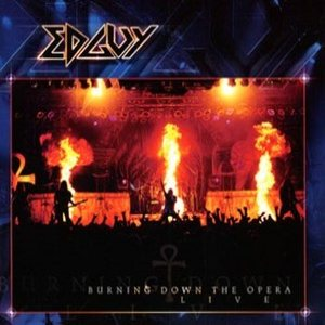 Edguy - Burning Down The Opera cover art