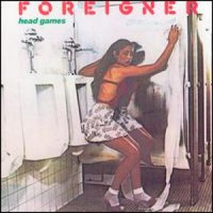 Foreigner - Head Games cover art