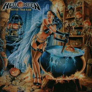Helloween - Better Than Raw cover art