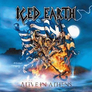 Iced Earth - Alive In Athens cover art