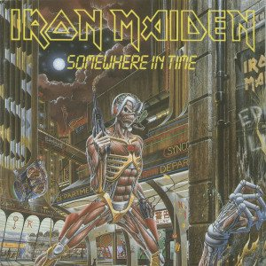 Iron Maiden - Somewhere in Time cover art