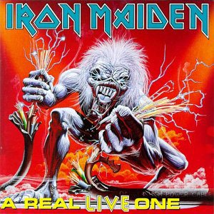 Iron Maiden - A Real Live One cover art