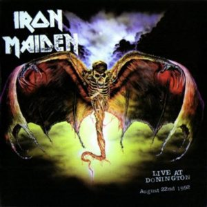 Iron Maiden - Live At Donington cover art