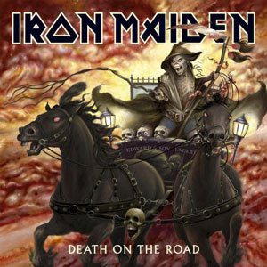 Iron Maiden - Death On The Road cover art