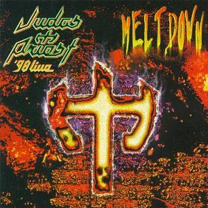 Judas Priest - '98 Live Meltdown cover art