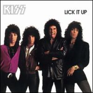 Kiss - Lick It Up cover art