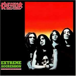 Kreator - Extreme Aggression cover art