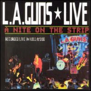 L.A. Guns - A Night On The Strip cover art