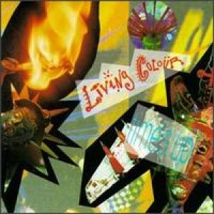 Living Colour - Time's Up cover art