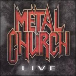 Metal Church - Live cover art