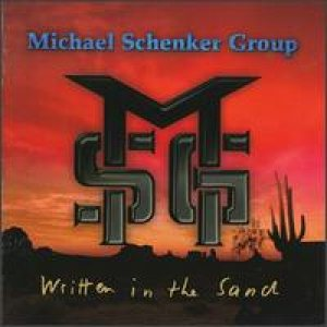 The Michael Schenker Group - Written In The Sand cover art