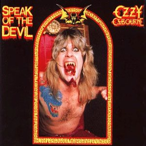 Ozzy Osbourne - Speak Of The Devil cover art