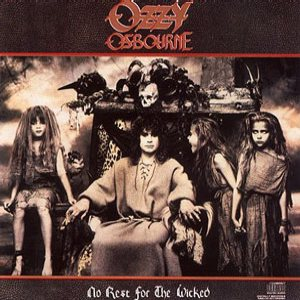 Ozzy Osbourne - No Rest for the Wicked cover art