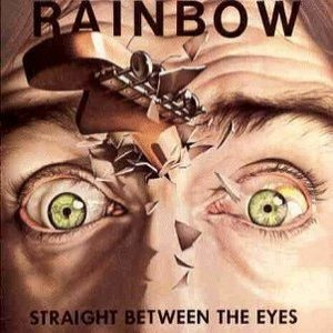 Rainbow - Straight Between the Eyes cover art