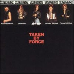 Scorpions - Taken by Force cover art