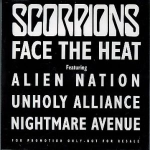 Scorpions - Face the Heat cover art