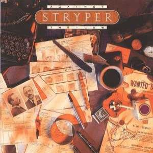Stryper - Against the Law cover art
