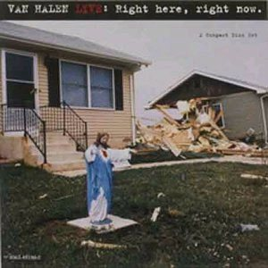 Van Halen - Live: Right Here, Right Now cover art