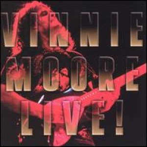 Vinnie Moore - Live! cover art