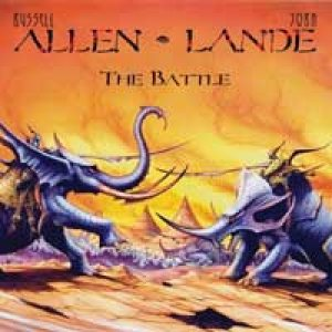 Russell Allen & Jorn Lande - The Battle cover art