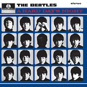 The Beatles - A Hard Day's Night cover art
