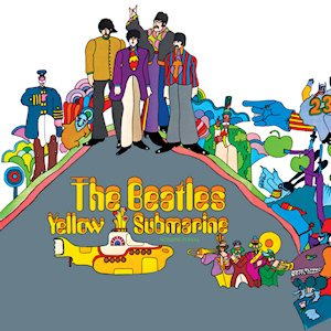 The Beatles - Yellow Submarine cover art