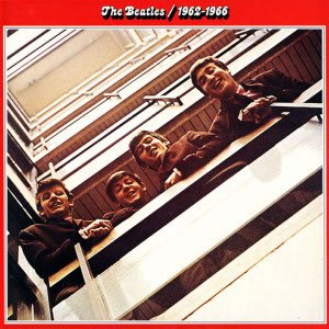 The Beatles - 1962-1966 cover art