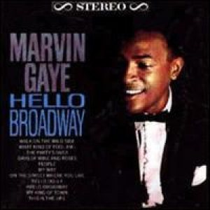 Marvin Gaye - Hello Broadway cover art