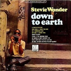 Stevie Wonder - Down to Earth cover art