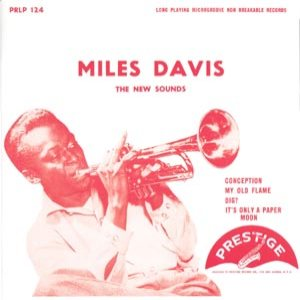Miles Davis - The New Sounds of Miles Davis cover art