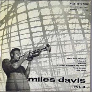 Miles Davis - Miles Davis, Vol. 3 cover art