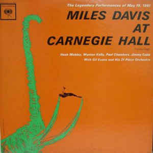 Miles Davis - At Carnegie Hall cover art