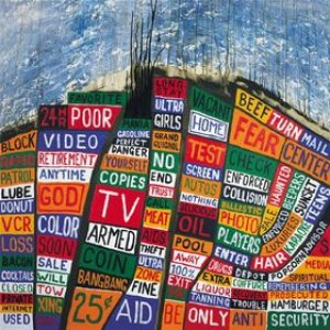 Radiohead - Hail to the Thief cover art