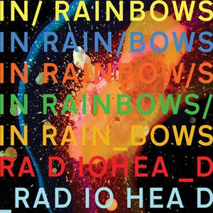 Radiohead - In Rainbows cover art