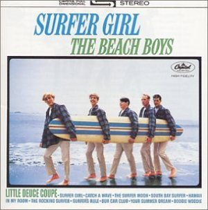The Beach Boys - Surfer Girl cover art